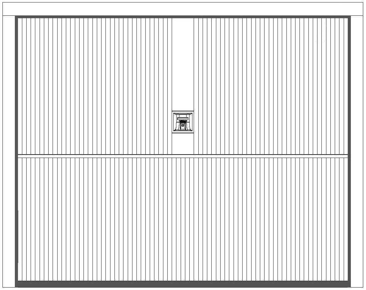 MILLERIGHE Securlap Single Door