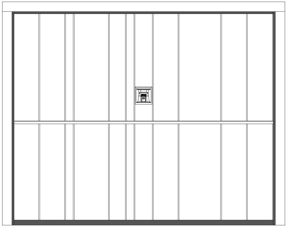 NEWMAN Securlap Single Door