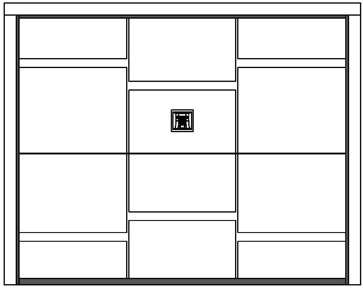 SLOT Securlap Single Door