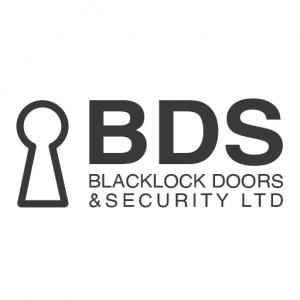 blacklock doors logo