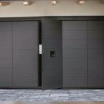 pedestrian garage doors
