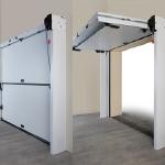 space saving garage doors